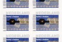 Kant op postzegels