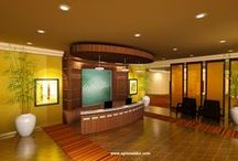 Health Club Design / A few areas of a heal club design by Optimal