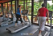 Gym / Health and fitness center at KajaNe Yangloni / by KajaNe Bali
