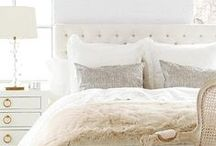 BEDROOMS / Inspring calm, cozy and chic bedrooms.
