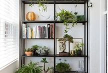 BOOKCASES / Collection of inspiring chic bookcases and how to style them.