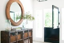 ENTRYWAYS / Inspiration for gorgeous entryways and foyers.