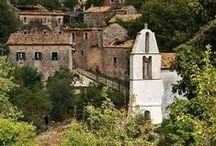corfu scenes / Sights and scenery of Corfu, Greece
