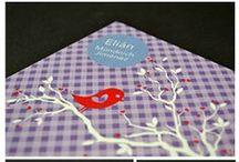 Geburtskarten / Schöne Karten für süße Babys von liebelein-will.
