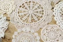 Crochet / Lace crochet, doilies...