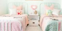 Girls Bedrooms / Bedroom ideas for my six year old!
