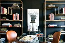 HOLLYWOOD REGENCY / Hollywood Regency interior design and home decorating ideas and inspiration.