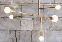 LIGHTING / Chic, unique lighting ideas and stylish lamps to buy.