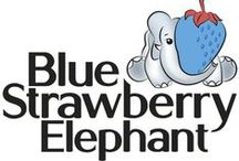 From the Folio / Graphic design work from Blue Strawberry Elephant