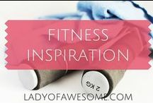 FITNESS • INSPO / Inspiration, motivation for fitness, health, losing fat, gym, workouts
