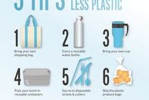 Solutions to Plastic / We are the problem, but we are also the solution. Together we can do this!
