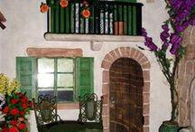 Minyatür _Küçük evler