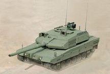 military | modern tanks & vehicles
