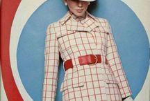 Rojo / Mod, vintage style, 60's