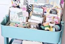 Organizing My Office / To be brilliant and business-like I have to have a clean and organized office. Check out all the neat ideas that the great ladies of Pinterest have found!