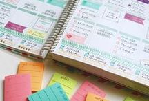 Planner Ideas For Erin Condren, Plum Paper, Moleskine & Happy / I LOVE finding great ways to organize my planner pages. There are some GREAT tips here to make your journaling better!