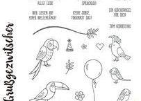 SU (Stamps) Grußgezwitscher/ Bird Banter