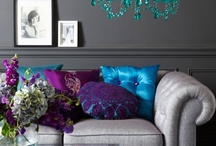 Inspirational Interiors / Lovely interiors that I have found on my travels through the www. Yummy furniture and fabric. Things that inspire me.