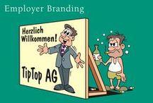 Employer Branding / Wie Firmen zum unwiderstehlichen Arbeitgeber werden, der die passenden Talenete magnetisch anzieht.