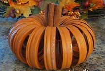 Awesome Autumn / I LOVE autumn... the colors, the cooler days & Halloween! I love decorating my home to welcome the season!