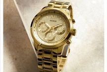 Guess Watches / Because everyone should own at least one Guess Watch...fashionable, affordable and high quality.