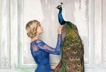 Prancing Peacock