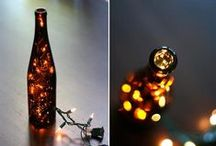 Wine Bottle Wonders / Things you can do by re-purposing a wine bottle or even a beer bottle!