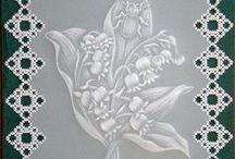 Moje prace pergaminowe / technika pergaminowa ,Pergamano,Parchment craft