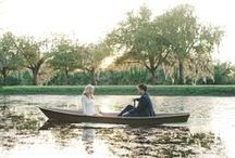 Engagement Photos / Engagement photos take in the Jungle Gardens on Avery Island