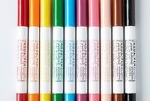 Felt Tip Pens / Eco-friendly, felt-tip pens for gorgeous, vivid colours. Find Lyra art pens with brush effects, OcoNorm water soluble pens, pens which change colour when you add a magic marker and colours which disappear with a magic eraser. So much choice - visit www.consciouscraft.uk for our colourful range of natural felt-tip pens, crayons and paints.