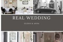 REAL WEDDINGS. / Real wedding inspiration, tips from real brides, wedding styling, and DIY tips for your own wedding.
