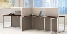 Bush Business Furniture: Easy Office Collection / Easy Office™, a contemporary open office solution for one to one hundred, designed for fast, affordable and easy use, everyday.