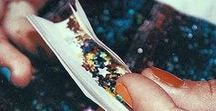 SPREAD THE SPARKLE / My blood type is : GLITTER