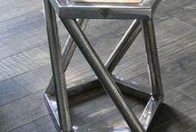 mobilier design métal inspiration