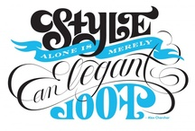 Typography / by Susan Teixeira