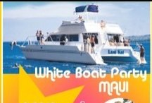 White Boat Party Maui / Join us for fab White Boat Party Maui on 03.23.13. Swim, snorkel, chill and dance to House Music Mixed by dj Maui Babe. A party for women by women. Drinks included in ticket price. For more info + tickets: http://boatpartymaui.com