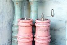 Distressed paint projects