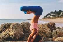 Yoga and Chakras / Combines all chakra yoga poses with a few helpful chakra tips!
