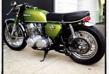 Café Racer, bobbers / motorcycles,