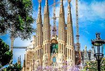 Antoni Gaudi (Barcelona / İSPANYA - ESPANA - SPAIN)