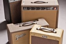 Guitar tube/valve amplifiers
