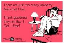 Jamberry / My favorite manicures & pedicures by Jamberry!  http://jAMBERnails.jamberry.com