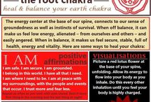 Root Chakra - Red / Poses, Affirmations, and Helpful Tips for the Root Chakra!