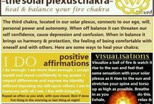Solar Plexus - Yellow / Poses, Affirmations, and Helpful Tips for the Solar Plexus Chakra!