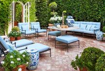 • Outdoor Rooms - / Outdoor living, patios, decks and ways to decorate them.   Landscaping can increase the resale value of a property by as much as 14%. A good investment and a great place to enjoy.