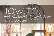 - Designer tips and tricks / Interior decorator tips, wisdom and knowledge.