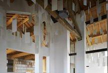 The Old House by Kengo Kuma / Situata all'interno del sito produttivo di Casalgrande Padana, la Old House è il risultato di un interessante progetto di riqualificazione dell'esistente realizzato da Kengo Kuma con la consueta sensibilità che contraddistingue il suo approccio ai temi della tradizione. / by Casalgrande Padana