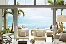 - Coastal Casual - / Beach decor. Beach house. Beach design.  That wonderful place to wash away the stress.