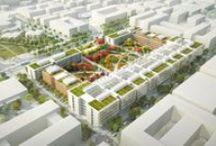 Campus Paris-Saclay by Renzo Piano / Vi invitiamo a fare un viaggio virtuale, a Parigi, in un progetto che porta la firma di Renzo Piano. Si tratta del nuovo Campus di Paris-Saclay, della prestigiosa  Ecole normale supérieure de Cachan, che aprirà nel 2018.