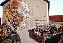 Street art / Artwork / Street art, graffitti, artwork in generel